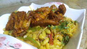 Delicious Chicken Tikka Macaroni Recipe
