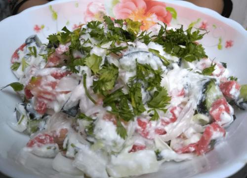 Yogurt Salad Pakistani Food Recipe