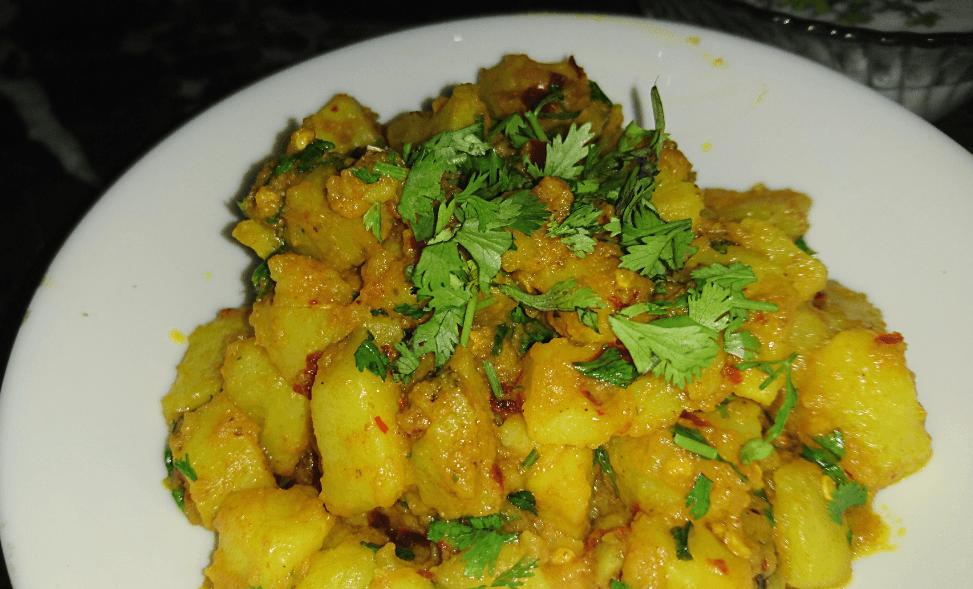 Chat Patta Potatoes Pakistani Food Recipe