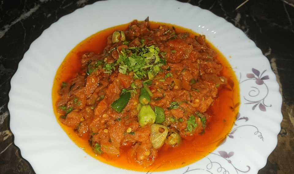 Tomato Chutney Pakistani Food Recipe