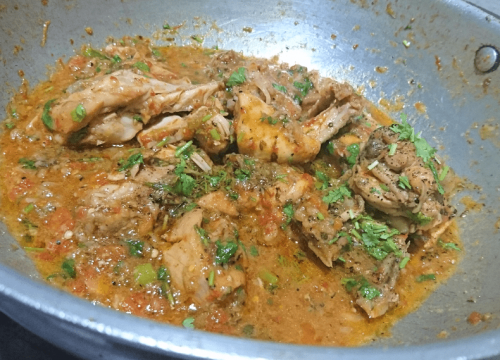 Black Pepper Chicken Karahi Pakistani Food Recipe