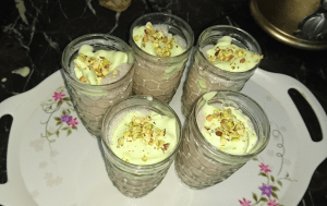 Chocolate With Pistachio Milk Shake Pakistani Food Recipe