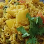 Aloo Matar Pulao Pakistani Food Recipe