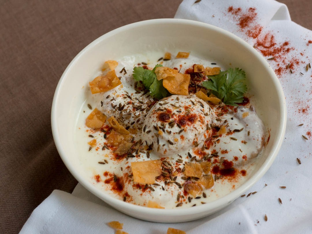 Besan Dahi Baray With Veggies Pakistani Food Recipe (With Video)