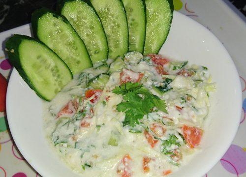 Sindhi Salad Pakistani Food Recipe