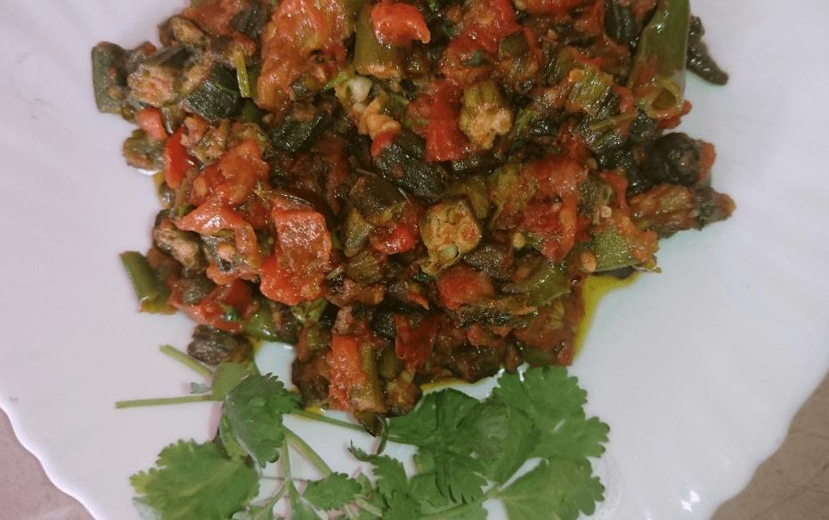 Tamatar Bhindi Pakistani Food Recipe