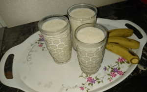 banana shake Pakistani food recipe