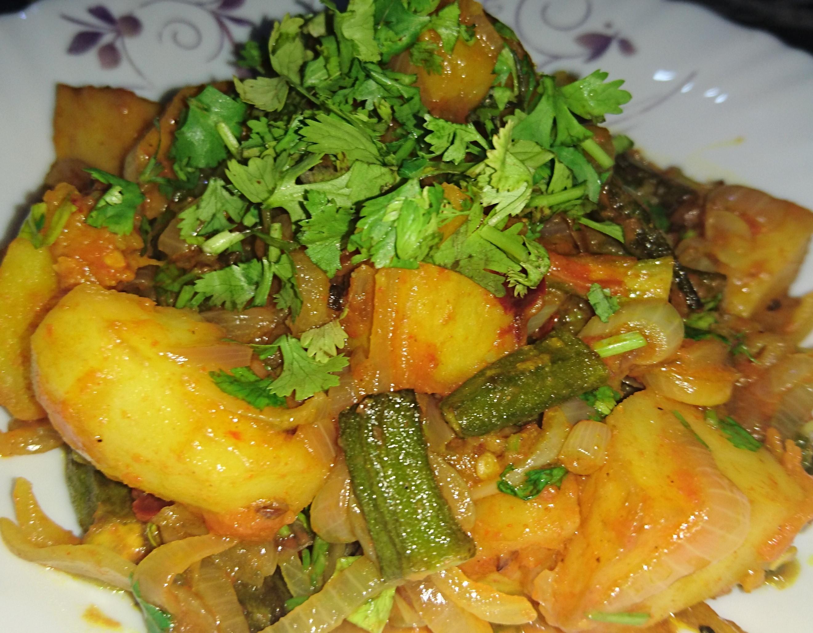 Masala Bhindi (Okra) Pakistani Food Recipe