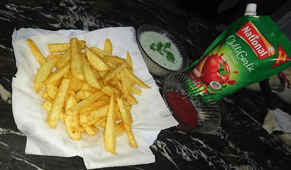 French Fries Pakistani Food Recipe