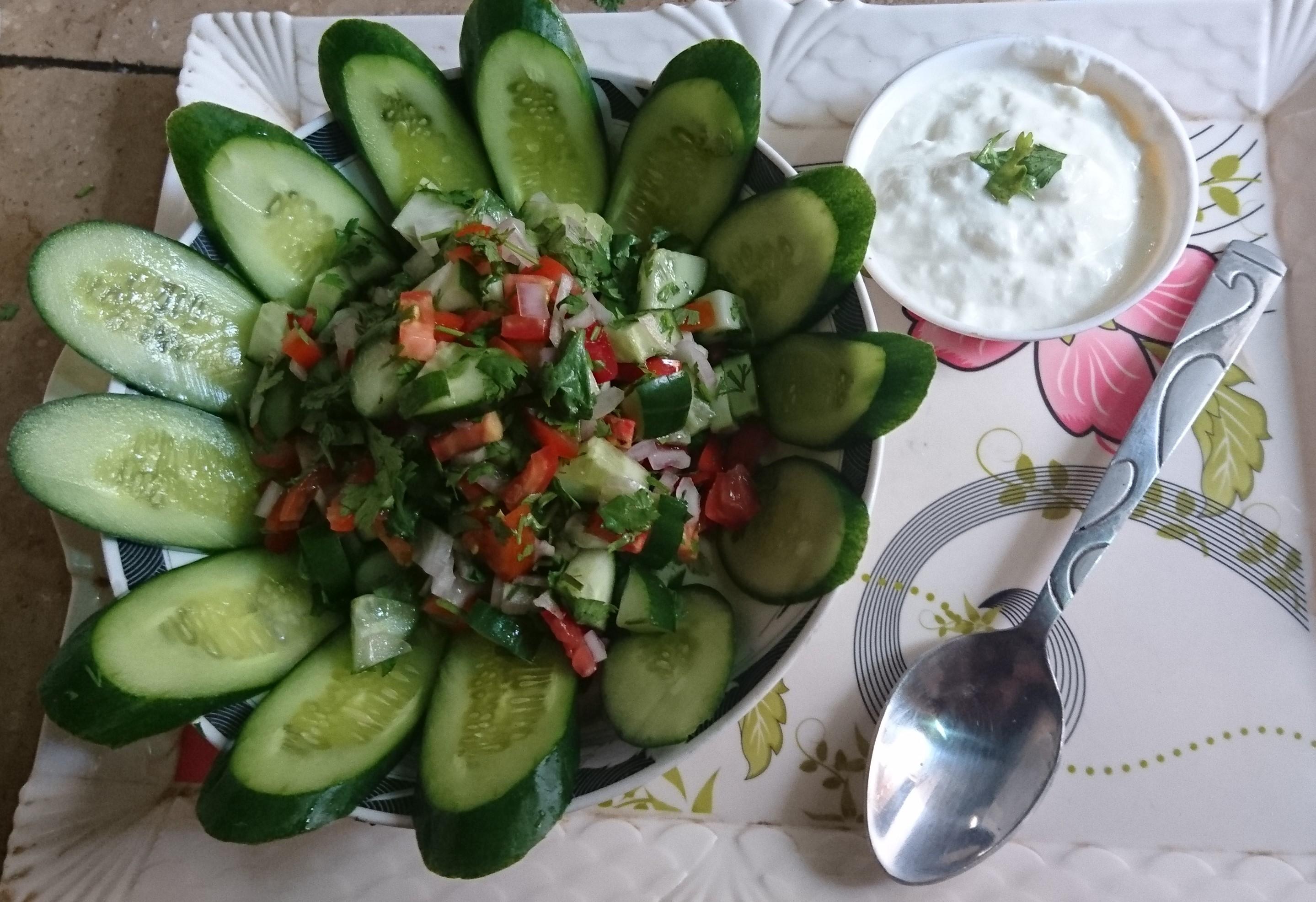 Israeli Salad Pakistani Food Recipe