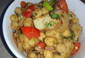 Chana Chaat Pakistani Food Recipe