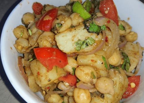 Chana Chaat Pakistani Food Recipe