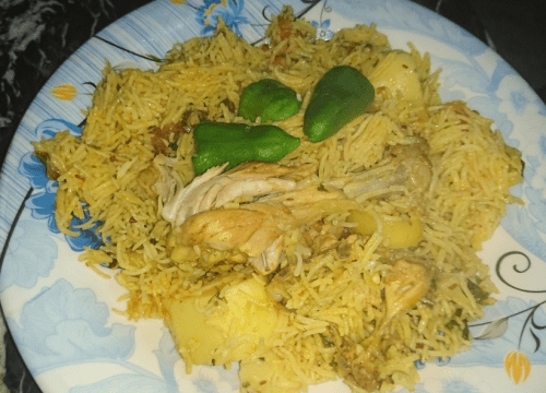 Chicken Pulao Pakistani Food Recipe