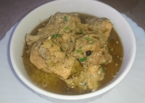 Chicken White Karahi Pakistani Food Recipe