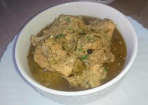 Chicken White Karahi Pakistani Food Recipe