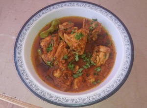 Cholistani Chicken Karahi Street Style Pakistani Food Recipe