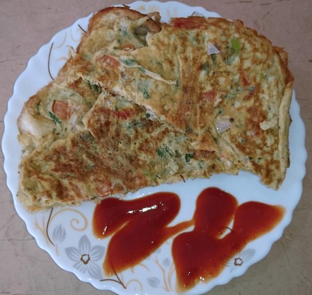 Bread Omelette Pakistani Food Recipe