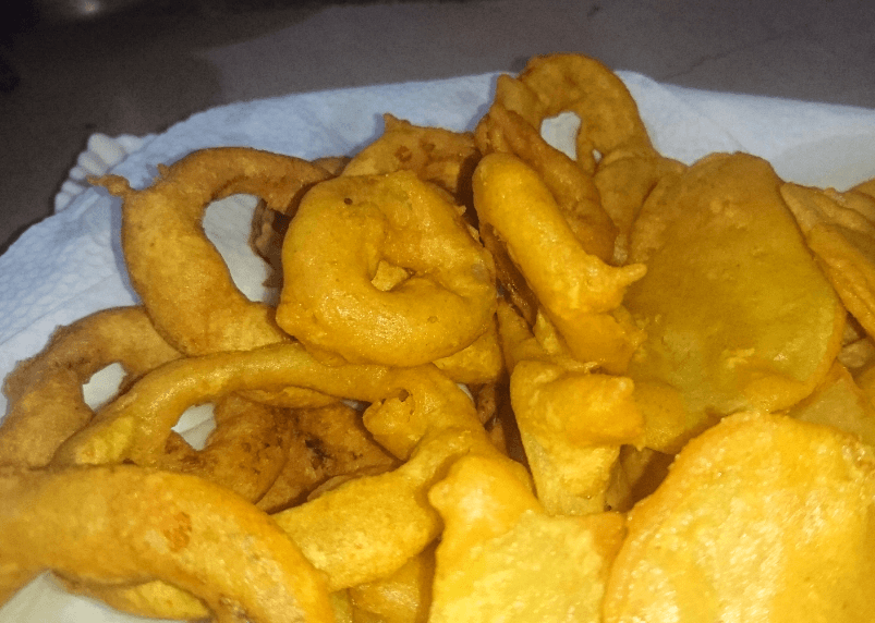 Onion Ring Pakora Pakistani Food Recipe