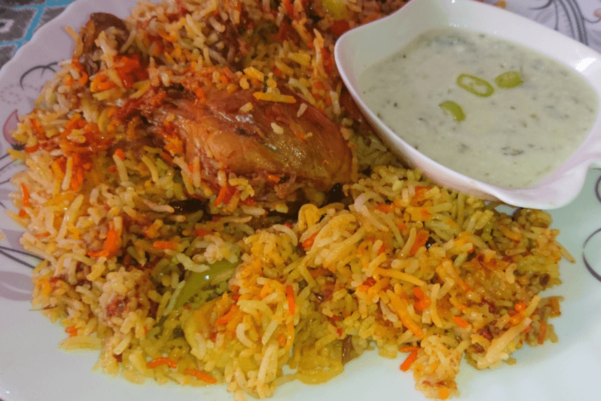 Easy & Delicious Degi Biryani Pakistani Food Recipe (With Video)