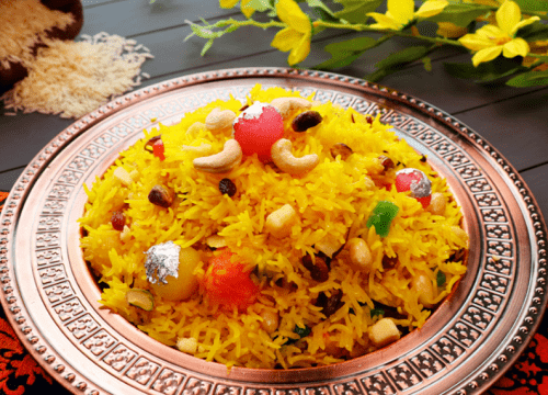Shahi Zarda Sweet Rice Pakistani Food Recipe