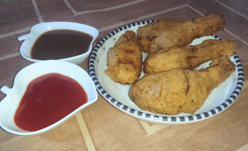 Simple Fried Chicken Pakistani Food Recipe (With Video)