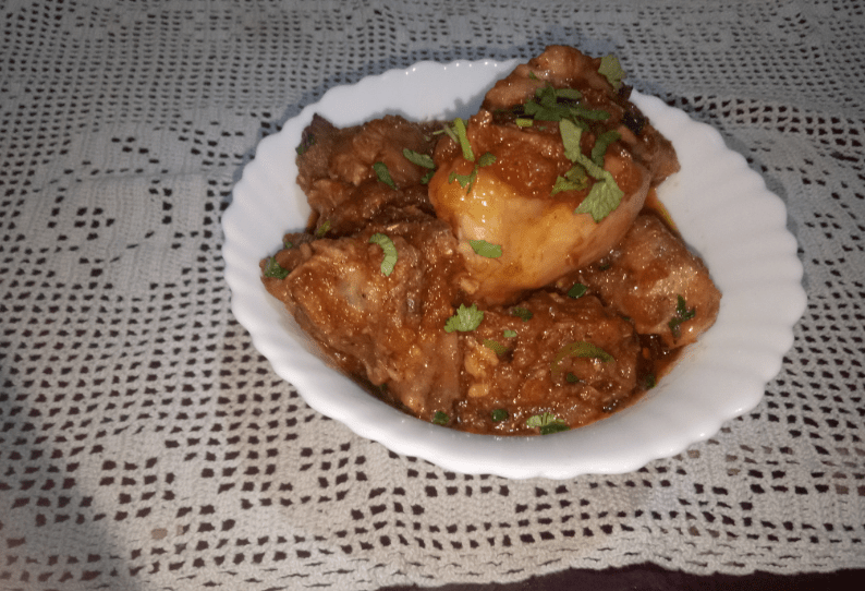 Sindhi Chicken Karahi Pakistani Food Recipe (With Video)