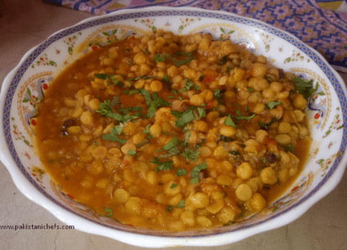 Chana Dal Dhaba Style Pakistani Food Recipe