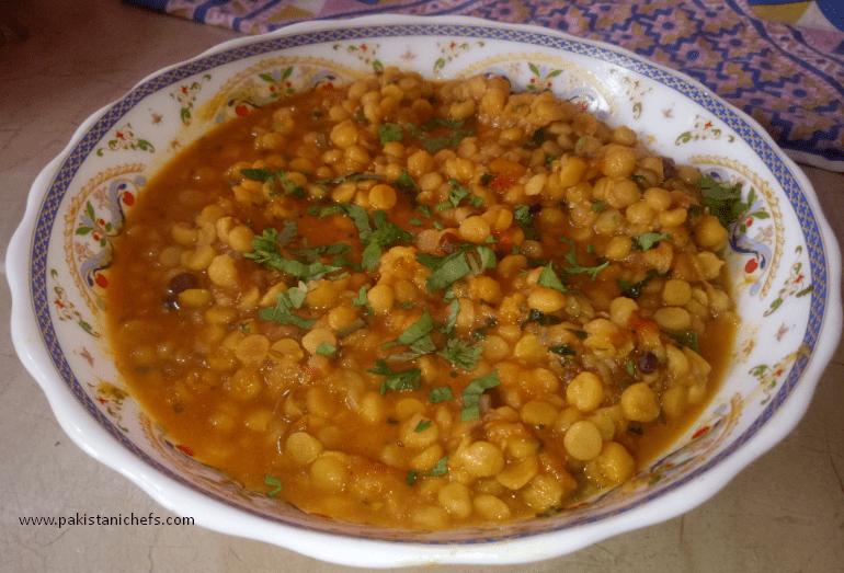 Chana Dal Dhaba Style Pakistani Food Recipe