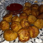 Delicious Chicken Balls For Kids Pakistani Food Recipe (With Video)