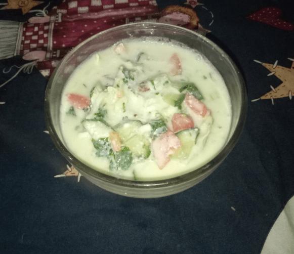 Delicious Veggies Raita Pakistani Food Recipe