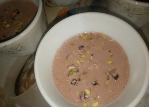 Kashmiri Chai Pink Tea Pakistani Food Recipe