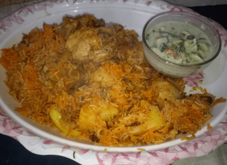 Tasty Sindhi Chicken Pulao Pakistani Food Recipe