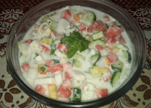 Weight Loss Salad Pakistani Food Recipe (With Video)