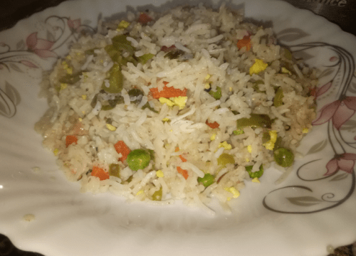 Chicken Fried Rice Restaurant Style Pakistani Food Recipe
