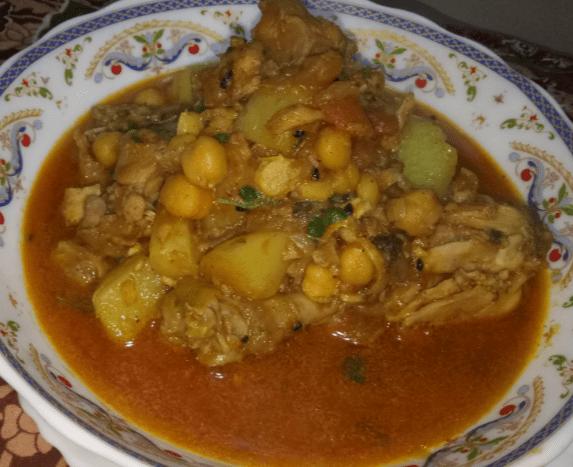 Murgh Cholay Pakistani Food Recipe