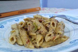 Penne Pasta With White Sauce Pakistani Food Recipe