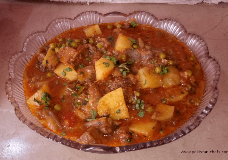 Delicious Aloo Baingan Pakistani Food Recipe (With Video)