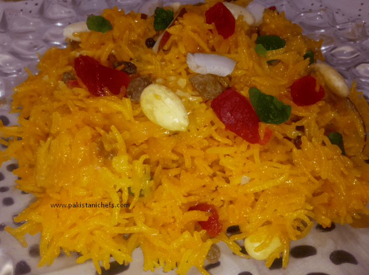 Easy & Tasty Zarda Pakistani Food Recipe (With Video)