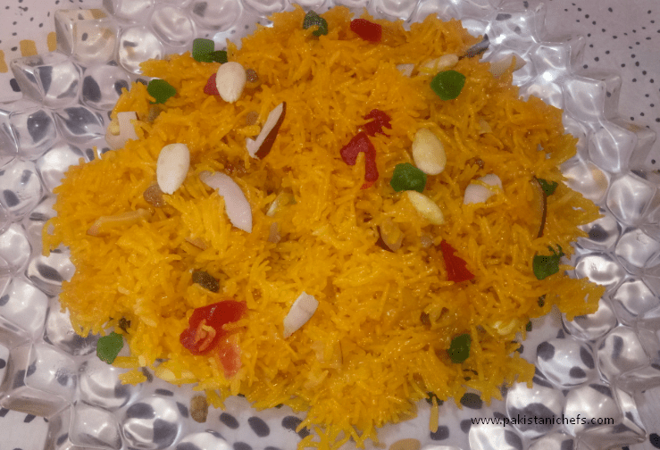 Easy & Tasty Zarda Pakistani Food Recipe (With Video)