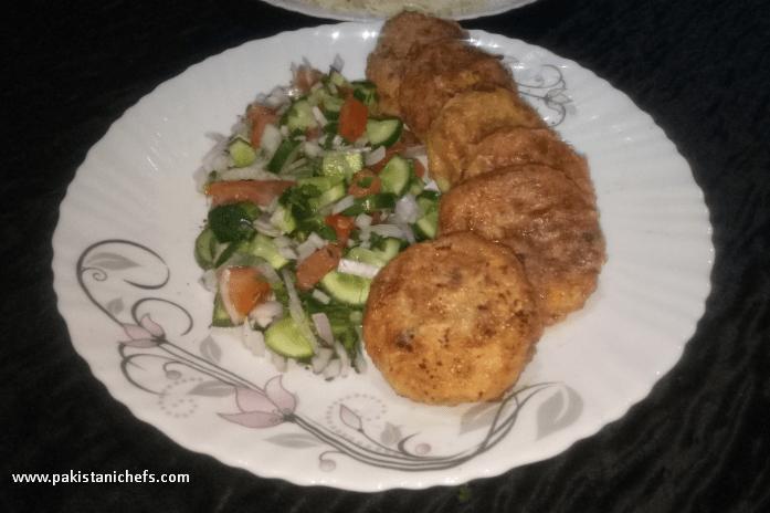Crispy & Tasty Aloo K Kabab Pakistani Food Recipe (With Video)
