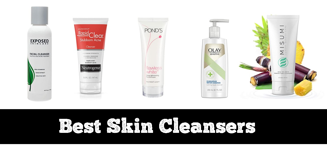 5 Best Skin Cleansers for Women in 2020