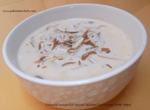 Colourful Seviyan Eid Special Pakistani Food Recipe (With Video)