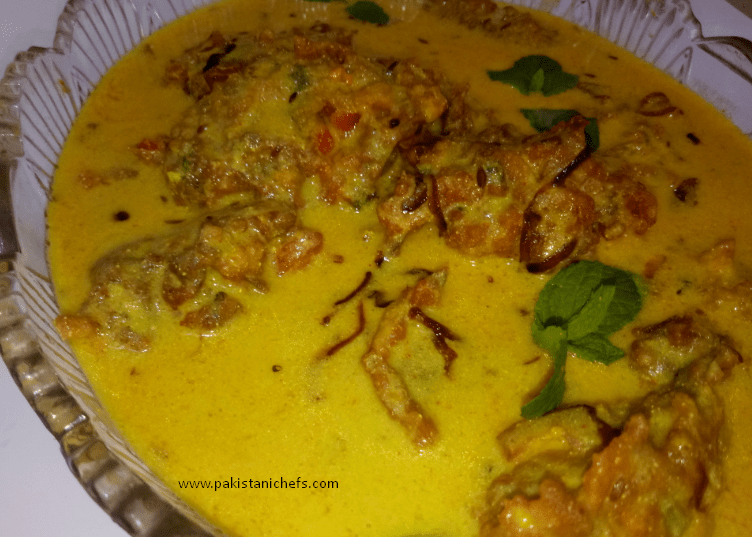 Delicious Kadhi Pakora Pakistani Food Recipe (With Video)