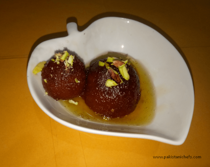 Gulab Jamun With Milk Powder Pakistani Food Recipe (With Video)