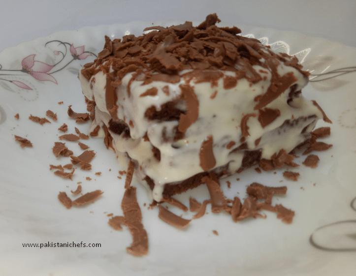 Chocolate Pan Cake Pastry Pakistani Food Recipe (With Video)