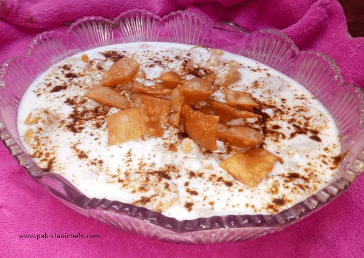 Moong Dal K Dahi Baray Pakistani Food Recipe (With Video)