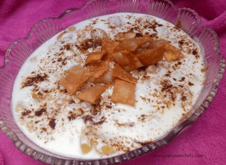 Moong Dal K Dahi Baray Pakistani Food Recipe (With Video)