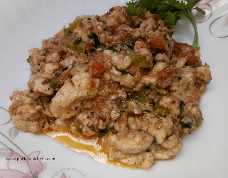 Tasty & Easy Brain Masala Pakistani Food Recipe (With Video)