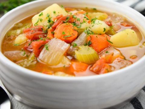 Easy Homemade Vegetable Soup Pakistani food Recipe