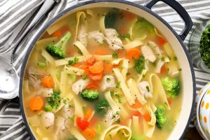 Chicken Noodles Soup Pakistani Food Recipe